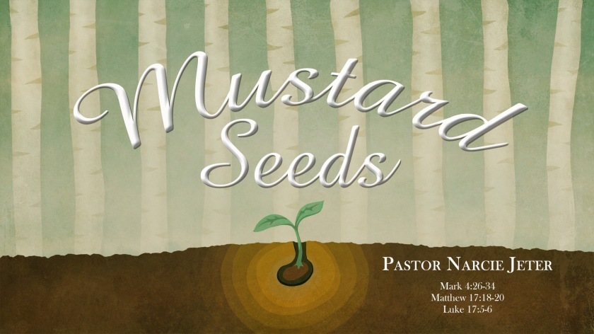 A Mustard Seed Faith – Blessings on the Journey